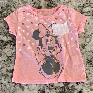 Disney Junior Minnie Mouse T-Shirt-Sz 12M-EUC
